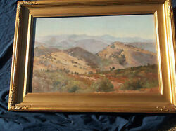 Charles Fries, California Landscape Artist,Many Museums,Ohio, Vermont Interest