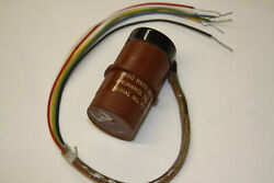 Rate Gyro Used For Wing Roll Applications Andndash Vintage Aircraft Instrument