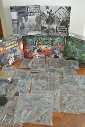 FORBIDDEN FORTRESS Shogun Pledge KICKSTARTER Board Game SHADOWS OF BRIMSTONE