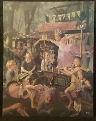 The Traveling Ballet By Bob Byerley - Sold Out Limited Edition Canvas