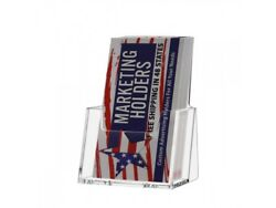 Vertical Business Card Holder Gift Card Stand Acrylic Wholesale Pack Qty 180