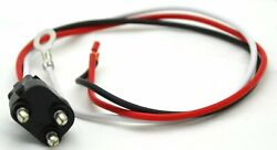 Wire Harness Light Pigtail 11 Long Stop Tail Turn 3 Wire Prong Straight Plug