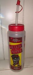 Rare Vintage Dr. Pepper Squeeze Sports Bottle Squeeze A Pepper Ft Worth Tx