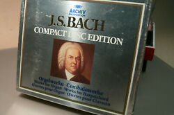 bach compact disc edition works for organ and harpsichord 3 cd box set