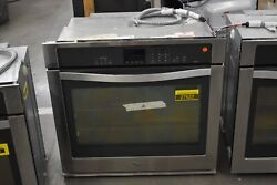 Whirlpool Wos92ec0as 30 Stainless Single Electric Wall Oven Nob 27622 Hrt
