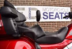 Honda Gold Wing Gl 1800 Low Standard Seat With Driver Backrest And Passenger Pad