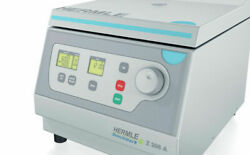 New Hermle Compact Clinical Centrifuge 200-6000rpm Max Rcf 4427 X G Z206-a