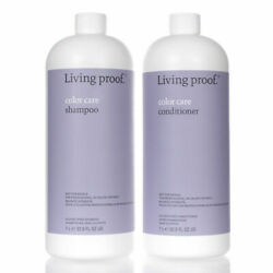 Same Day Ship Living Proof Color Care Shampoo And Conditioner 32oz/1l With Pumps