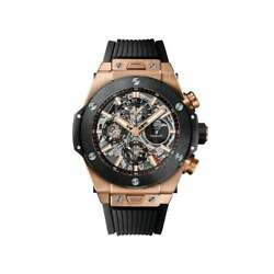 Hublot Big Bang Unico Perpetual Calendar King Gold Ceramic-Unworn wBox
