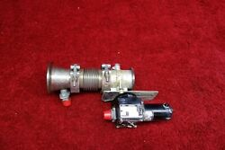 Airesearch Actuator Rotary D.c. Motor W/ Butterfly Valve 28v Pn 321292-1