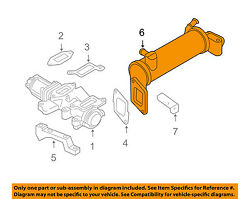 Gm Oem Emission System-egr Cooler 98034354