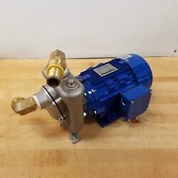 Mp Pumps 39788 1hp Stainless Steel Centrifugal Pump / Motor Unit Self Priming