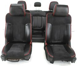 2009-2014 Ford F150 Fx4 Front And Rear Driver / Passenger Side Seats Black