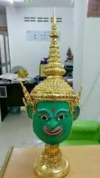 Rama of the Ramayana Thai traditional Art Handmade Mask New For Head Wear