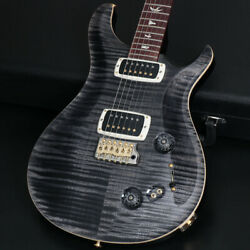 Paul Reed Smith (PRS) 408 10-Top Gray Black Pattern Neck New