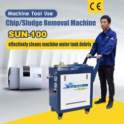Sfx Chip/sludge Removal Machine Sun-100 For Lathe, Mill, Saw, Grinding Machine