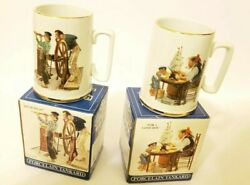 Norman Rockwell Seafarers Collectables Long John Silvers Porcelain Tankard