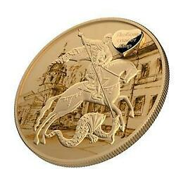 Russia 2018 3 Rubles St. George - Love saves the World III 1 oz Silver Coin