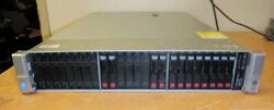 HP Proliant DL380 G9 Server-2x E5-2695 V3-Fourteen Core 2.3GHz-384GB-10x 1.2TB