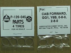 P-126-045 Traction Tire Factory Original Parts, Ahm And Rivarossi Ho Scale Trains