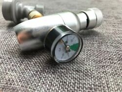 Homebrew Kegging Regulated Co2 Charger With Ball Lock Fitting 3/8 Co2 Thread