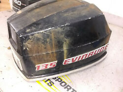 Evinrude Johnson 135 Hp Outboard Motor Cowling Engine Cover Hood