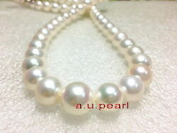 Top Luster Big 1713-14mm Real Natural South Sea Round White Pearl Necklace 14k