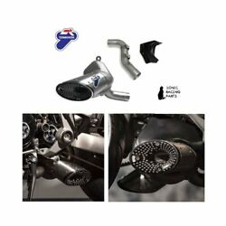 Termignoni Silencer Exhaust Stainless Steel Ducati Xdiavel Mr 036cr 96480931a