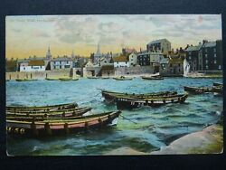 Durham HARTLEPOOL Town Wall Medieval Defences amp; Harbour c1905 Postcard by WRamp; S
