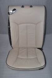 Maybach 57s 62s V240 W240 Rear Right Seat Leather 555a White Beige Exclusive 402