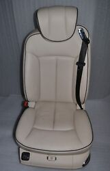 Maybach 57s 62s V240 W240 Front Left Seat Leather 555a White Beige Exclusive 402