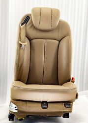 Maybach 57s 62s V240 W240 Front Right Seat Leather 534a Havanna Beige Exclusive