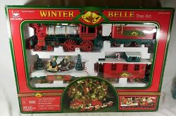 Winter Express Belle Train Set Christmas Train Animated Musical See Description