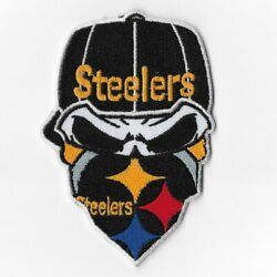 Pittsburgh Steelers D Iron On Patch Embroidered Football Patches
