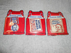 Vintage Patch Lot - Iron On - Cover-alls - Archie Bunker Lot - 1972 - New - Rare