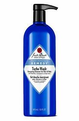 Jack Black Turbo Wash Energizing Cleanser For Hair And Body 33 Oz New Fresh