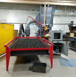 USED Plasma Cam #510 5'x10' Travel Plasma Cutter 34