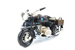Handmade Military Bmw R71 Three-wheeled Motorcycle Antique Style Metal Model