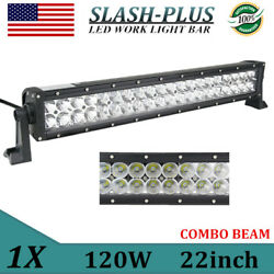 22inch 120w Led Light Bar Combo Car Driving Offroad Ford Truck 24