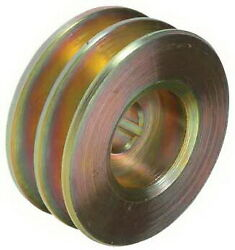 Pulley, 2-grooves, 0.63/15.9mm Id, 3.13/79.4mm Od, Fits,leece Neville/