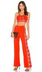 Nwt Free People Bella Pant Set Sz 10 350 Fire Sold Out Sfs