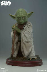 STAR WARS - Yoda 1:1 Scale Life-Size Statue (Sideshow Collectibles) #NEW