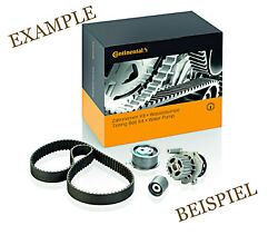 Contitech Timing Belt + Pulley Water Pump Kit For Seat Exeo St Estate 2l L4 L6