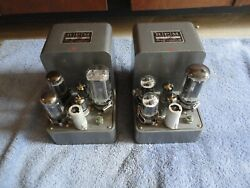 2 Acdc Electronics Regulated Tube Power Supply, Field Coil Speakers Preamplifier