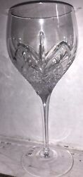 Vintage Royal Doulton Westminster Cut Glass Crystal Red Wine Glass