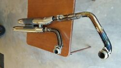 Yahama 5vn Motorcycle Exhaust Good Used Condition