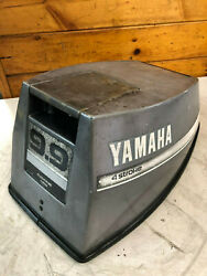 1993 Yamaha F 9.9 15 Hp 4 Stroke Outboard Engine Top Cowl Hood Freshwater Mn