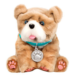 Little Live Pets My Kissing Puppy Rollie Kids Plush Interactive Sounds Dog Toy