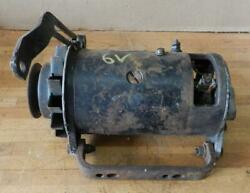 1946-50 Packard-studebaker 6-volt Used Delco Generator 9u With Mounting Brackets