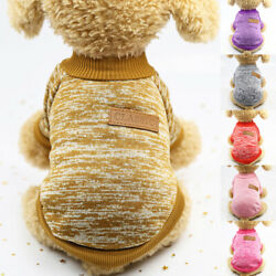 Pet Clothing Dog Clothes For Small Shirt Dog Cat Sweater Autumn Winter Warm C $3.99